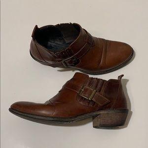 Charles David Brown Ankle Shooties / Booties